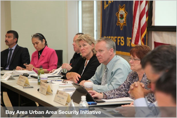 People at the Bay Area Urban Area Security Initiative Meeting