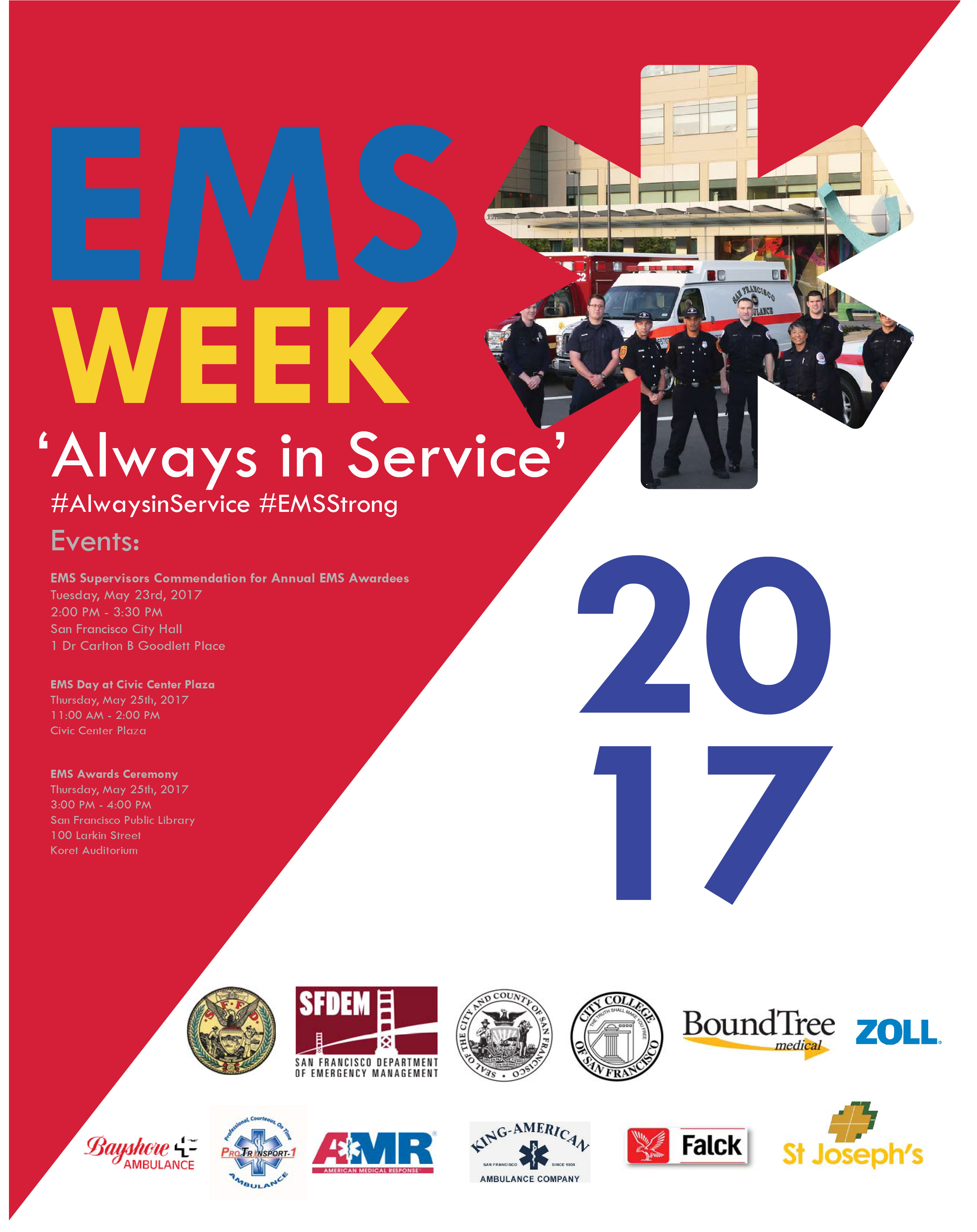 EMS Week Poster 2017